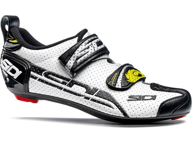 Sidi T-4 Air Carbon Shoes Herren white/black